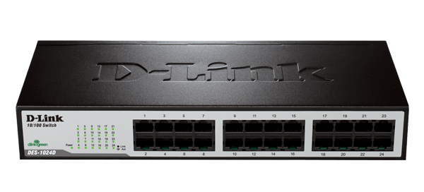 D-LINK - Switch 24 ports