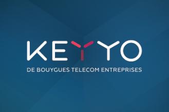 Nouveau logo et renforcement de l'activité Keyyo